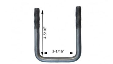 BOAT TRAILER PARTS PLACE - TAMPA FLORIDA - How To Measure U-Bolts