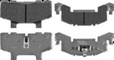 DEEMAXX STAINLESS BRAKE PAD(SET) 3-6K PAD-SS BOAT TRAILER PARTS PLACE - TAMPA FLORIDA