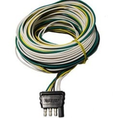 4 WAY WIRE HARNESS W/COMPLETE GROUND