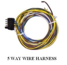 5 WAY WIRE HARNESS