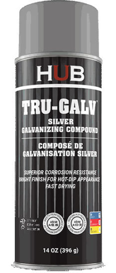 TRU-GALV SILVER GALVANIZING PAINT 78-65017