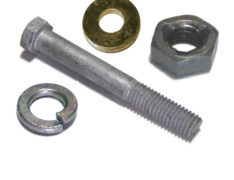 Galvanized Bolts Nuts & Washers