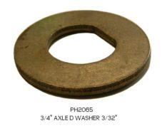 """AXLE WASHER D 3/4"""""""