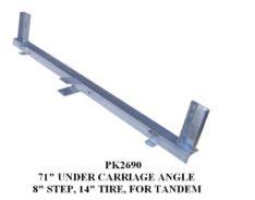 "PK2690 UC ANGLE 71"" W/8"" STEP - 14"" TIRES"