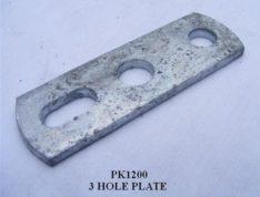 3 HOLE PLATE PK1200