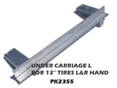 """UNDER CARRIAGE ANGLE 38"""" W/8"""" STEP PADS L/R PK2350-PK2360"""