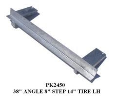 """UNDERCARRIAGE ANGLE 38"""" W/8""""STEP PADS PK2450 - PK2460"""