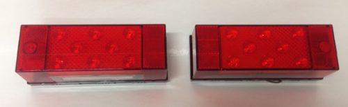 TAILLIGHT WATERPROOF LED RH-LH PL1180 - PL1182