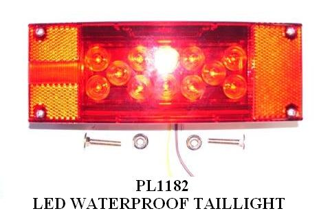 TAILLIGHT WATERPROOF LED RH-LH PL1180 – PL1182 3