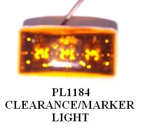 MARKER LIGHTS AMBER PL1184 – PL1065 2