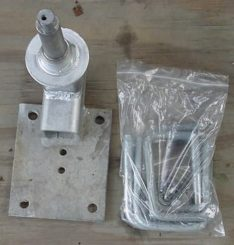 SPARE MOUNTS WITH SPINDLE/HUB PV1916
