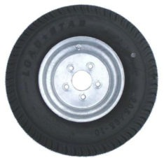 Galvanized Tire & Wheel Assemblies 8 Inch