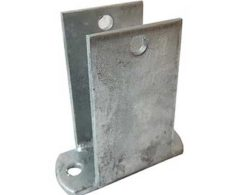 BOAT TRAILER PARTS PLACE - TAMPA FLORIDA -EQUALIZER HANGER 2 HOLE FOR TUBE FRAME ALUMINUM TRAILERS PK1800-T