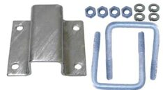 BOAT TRAILER PARTS PLACE - TAMPA FLORIDA - BUNK BRACKETS CLAMP ON ALUMINUM AND GALVANIZED